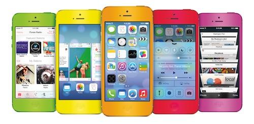 iPhone 5C (Mockup)