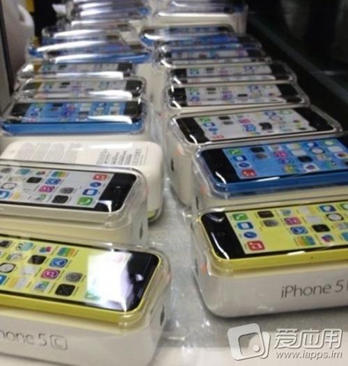 iPhone 5C Leak gelb