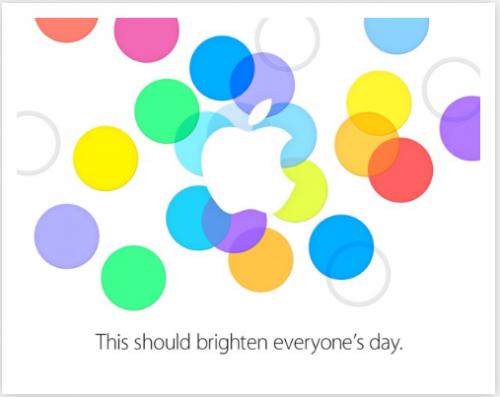 Einladung Apple 10 September