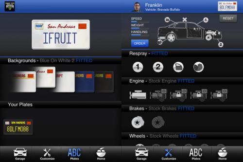 Grand Theft Auto iFruit Screen1