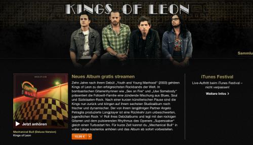 Kings of Leon neues Album