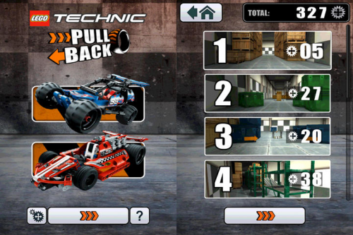 Lego Pullback Racer Screen1