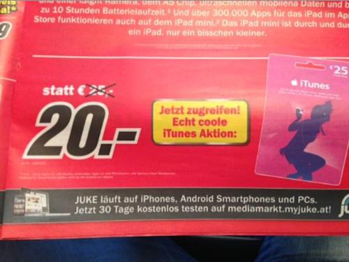 Media Markt Austria iTunes bis 29 9