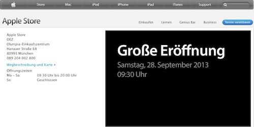 Muenchen Apple Store OEZ
