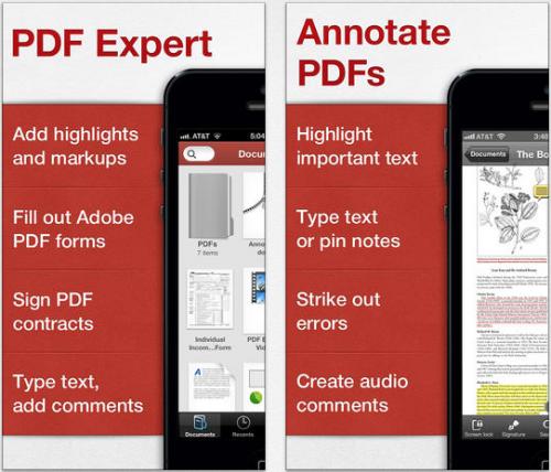 PDF Expert Ansicht