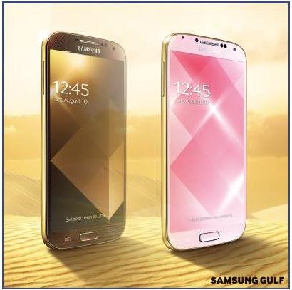Samsung S4 Gold