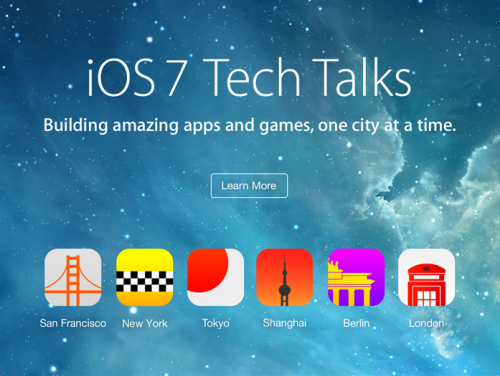 Tech Talks Apple 2013