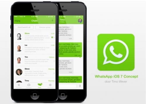 WhatsApp Konzept twitter.com:timowever applespot.nl