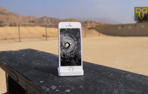 iPhone 5S vs Rifle RatedRR