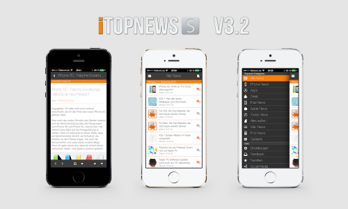 iTopnews 3.2 auf iPhone 5S