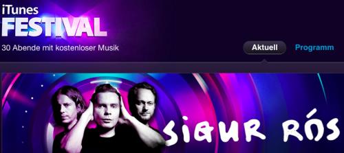 iTunes Festival Sigur Ros