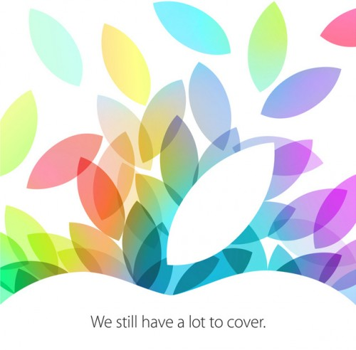 Apple iPad5 Event Logo