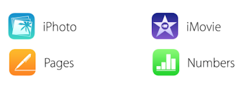 Apple neue Icons