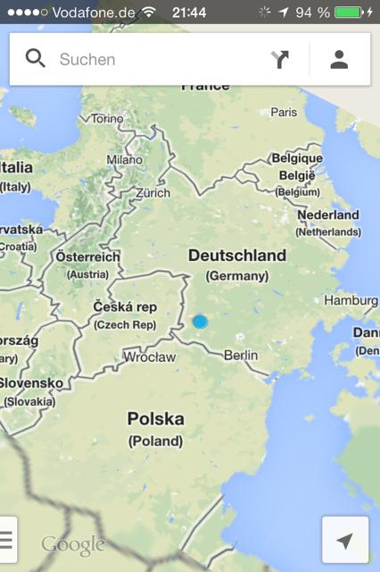 Google Maps Fehler Raphi