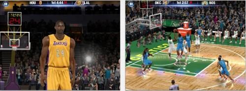 NBA 2K 14 Ansicht