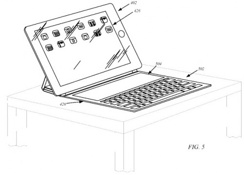 Patent Apple Keyboard Cover