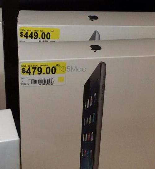 iPad Air eingetroffen USA
