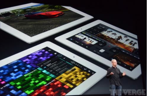 iPad Praesentation Tim Cook