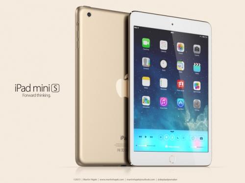 iPad mini 2 gold martinhajek.com