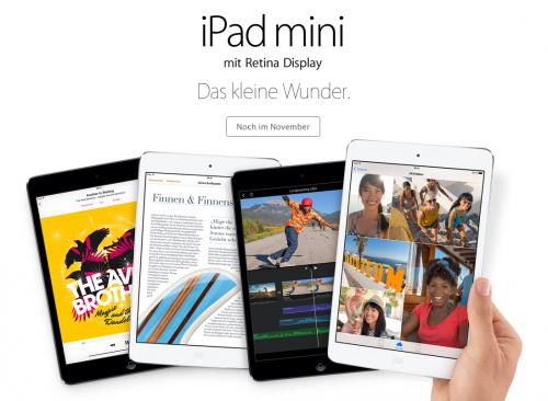 iPad mini Retina 1