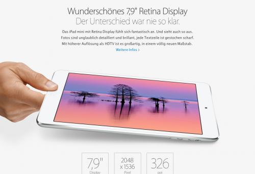 iPad mini Retina 2