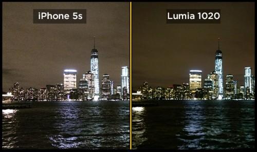 iPhone 5s lumia 1020 foto2