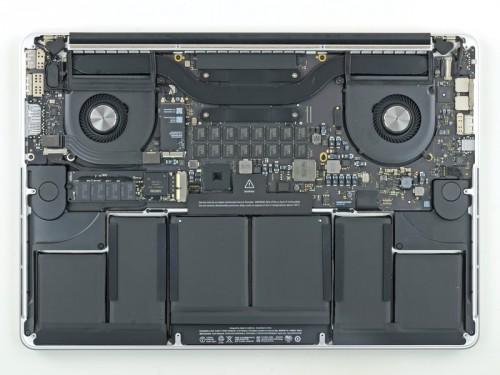 macbook pro teardown ifixit bild1