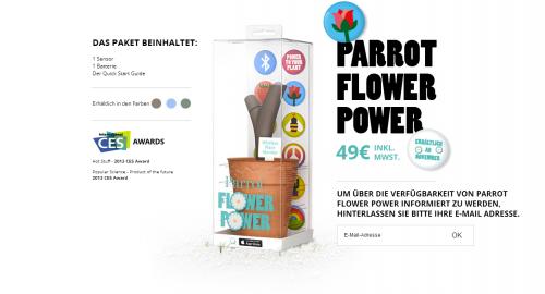 parrot flower power bild2