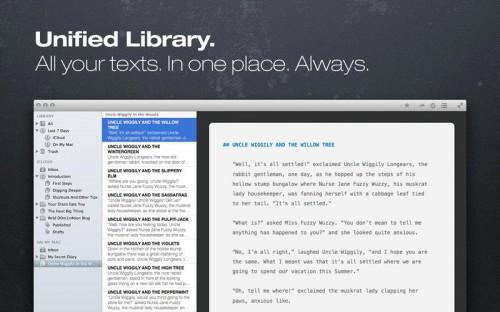 ulysses III Text Editor Screen1