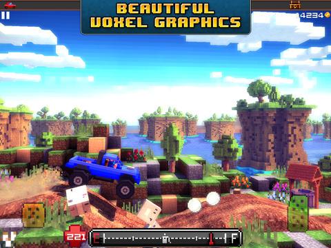 Blocky Roads Screen1