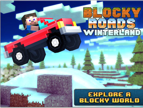 Blocky Roads Winterlnad
