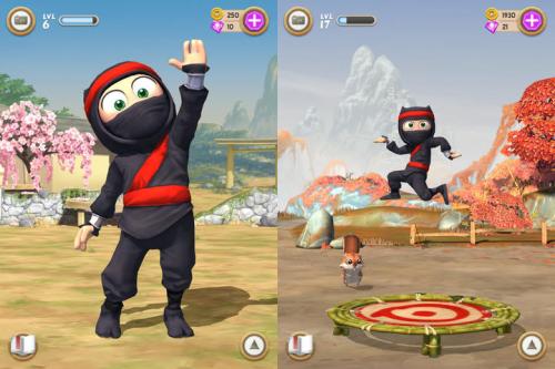 Clumsy Ninja Screen1