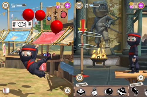 Clumsy Ninja Screen2
