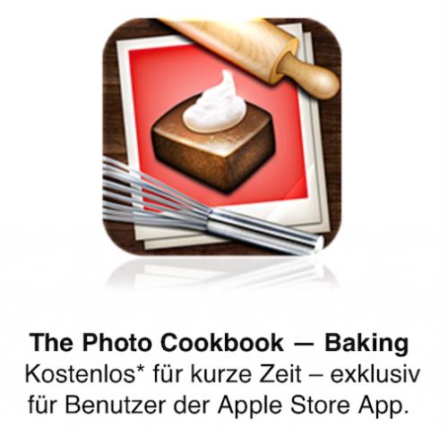 Foto Kochbuch gratis Apple Store App