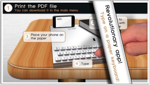 Paper Keyboard