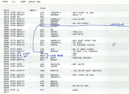 Quellcode Apple II