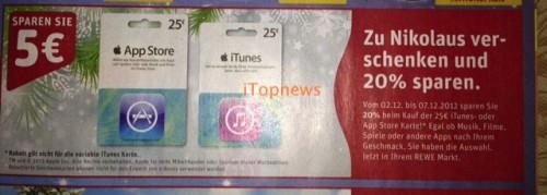 Rewe iTunes ab Montag copy