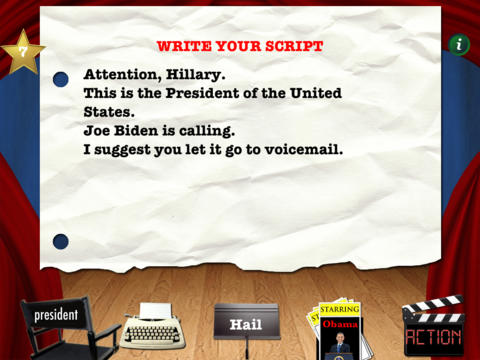 Ringtone Director Presidential Edition Screen1