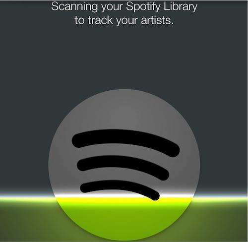 Songkick Spotify