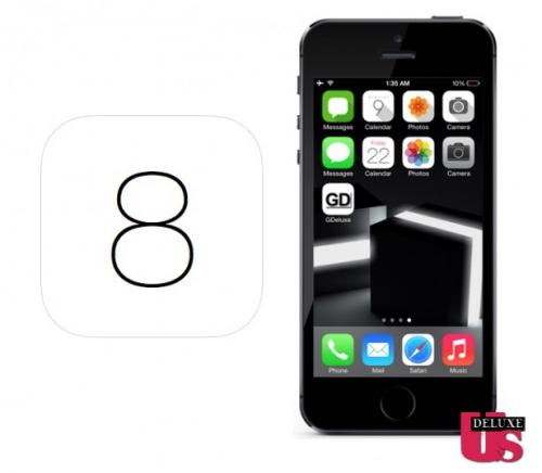 iOS 8 Konzept US.Deluxe