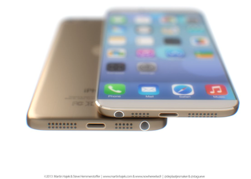 iPhone 6 Gold Martin Hajek Ansicht