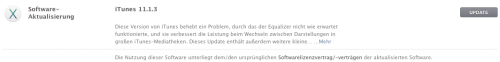 iTunes Update 11.1.3