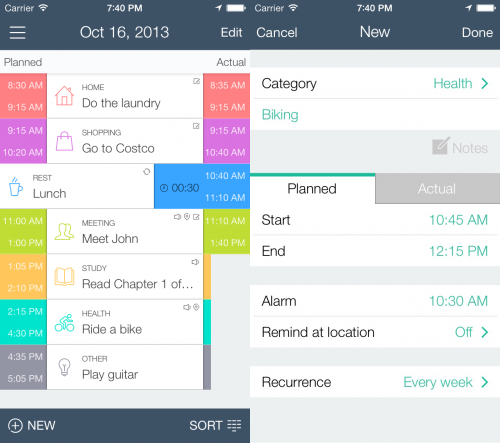 time planner screen2