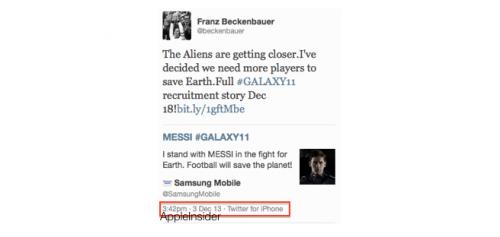 Beckenbauer Tweet