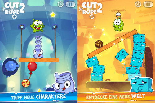 Cut the Rope 2 screen1