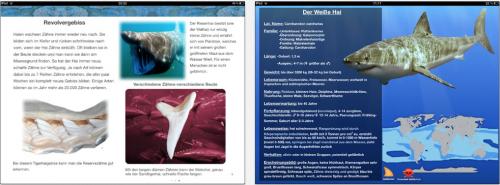 Die Welt der Haie iPad