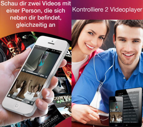 Double Video Player Pro Screen1