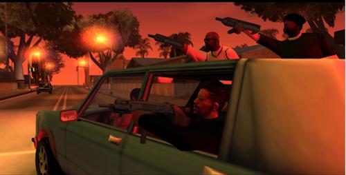 GTA San Andreas Ansicht
