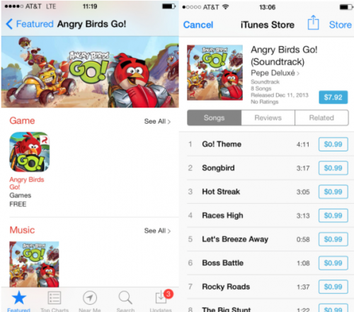 Landing Page Angry Birds Go