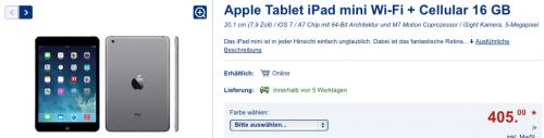 Lidl iPad mini Angebot
